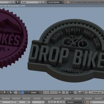 druk 3d logo rowery