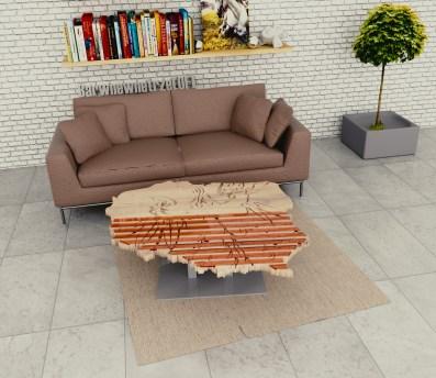 projekt nowoczesnego stolika kawowego polska