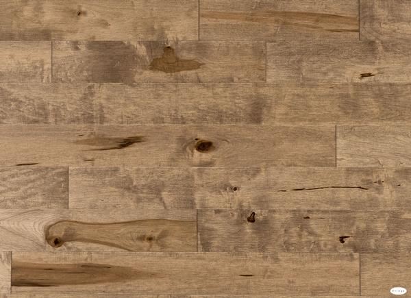Aged Maple Nougat Hardwood Floor  Barwood Pilon
