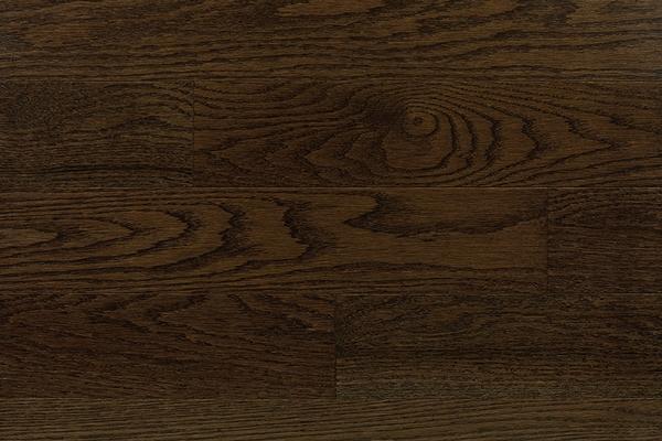 Red Oak Dark Walnut Hardwood Floor  Barwood Pilon