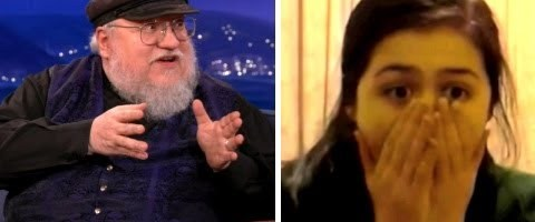 "George R. R. Martin Watches ""Red Wedding"" Reaction Videos – CONAN on TBS by teamcoco"