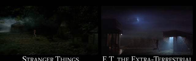 References to 70-80's movies in Stranger Things by Ulysse Thevenon