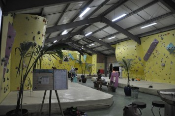 Salle d'escalade de bloc Réunion - Basalte Evolution