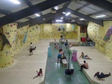 Salle d'escalade de bloc île de La Réunion - Basalte Evolution