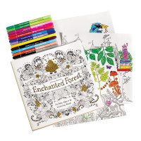 Enchanted Forest: An Inky Quest and Coloring Book | 10 ...