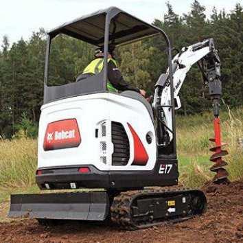 Crawler mini excavator