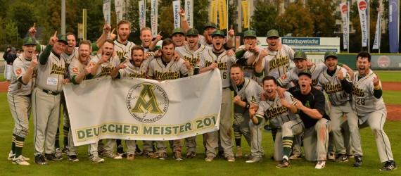 Deutscher Meister Mainz Athletics 2016
