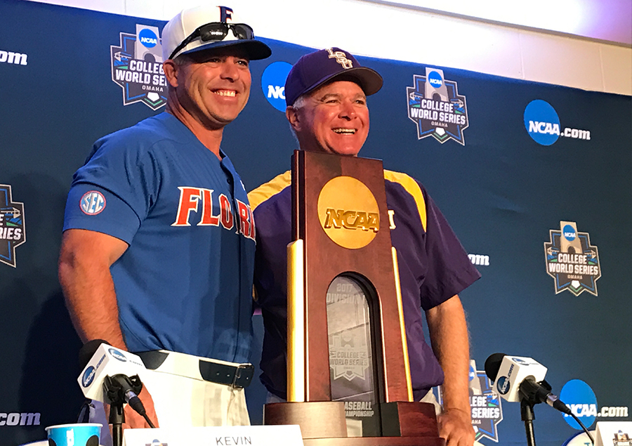 Image result for cws finals 2017 LSU-Florida