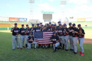 So cool that Team USA tuned up for this international competition at Cooperstown!