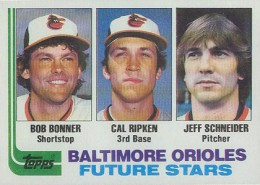 1982 Cal Ripken Jr. card that got away. Pic via Cardboard Connection.
