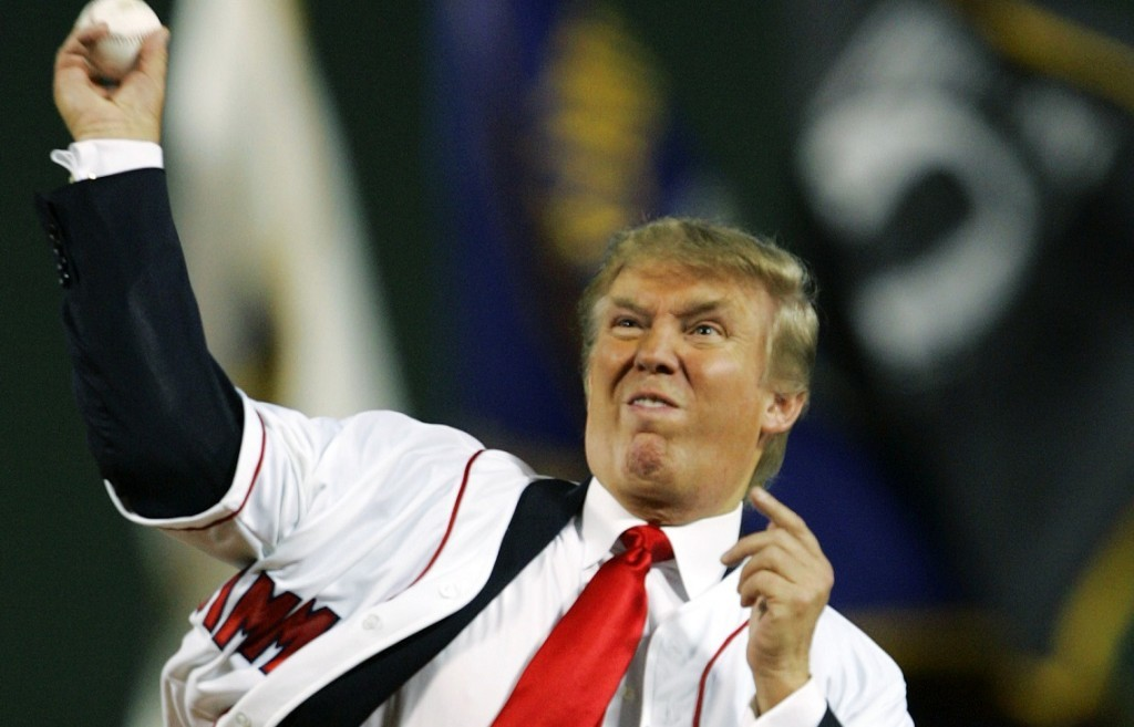 Image result for donald trump baseball