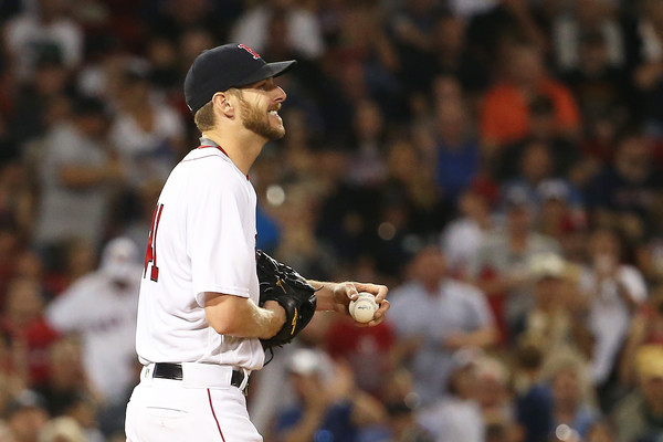 Red Sox gun for six straight at Toronto