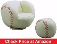 Baseball Furnitures : Baseball Chair, Bed, Lamp, Rug & More
