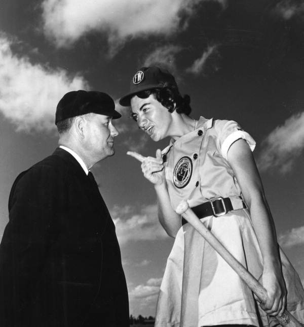 a history of the all american girls professional baseball league During the tense years of world war ii, a group of unique athletes took the field -- the all-american girls professional baseball league for twelve seasons, from.