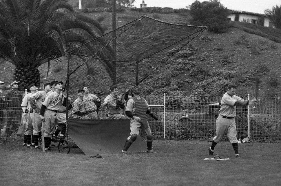 Bating practice on Catalina Island