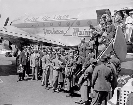 The American League Announces Contingency Plan In Case Of An Airplane Disaster, January 29, 1947!