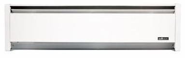 Cadet Softheat Hydronic Baseboard Heater - EBHN1000 - 208 / 240 Volt; 1000 / 750 Watt. 59 in. Length - 7 Year Warranty