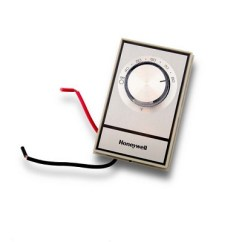 Honeywell Heat Only Thermostat Wiring Diagram How To Wire A Light And Switch T498a1810 Non Programmable Line Voltage