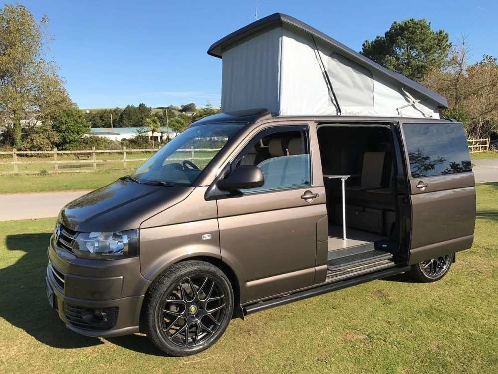 medium resolution of volkswagen transporter t5 for sale with elevating roof