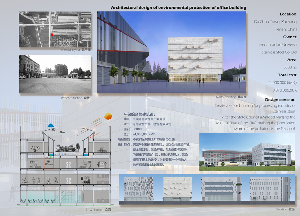Architectural design project- chinaBe