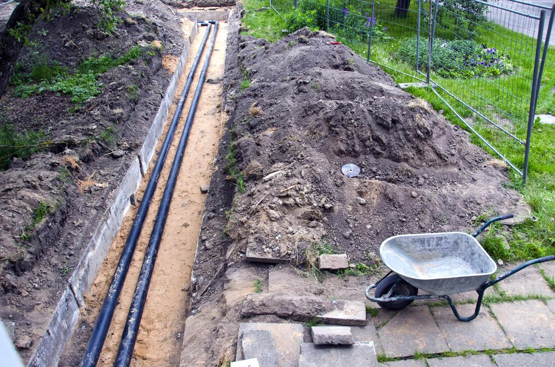 french drain weeping tile wet basement
