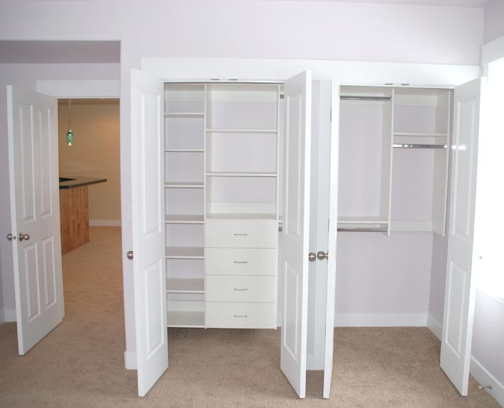 ... Sandy Utah Basement Finish Picture Of Bedroom Showing Closet Organizer  ...