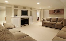 Basement Living Room Ideas