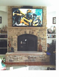 Fireplace Stone Work - Valley Forge Builders
