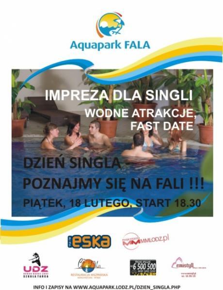 Dzień Singla w Aquaparku Fala