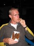 Eelco rookt sigaar uit Cojutepeque