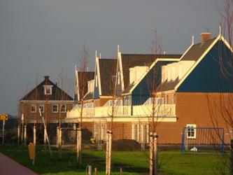 De wijk Marken in Saendelft