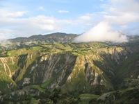 Machtig landschap rondom Chuchilán