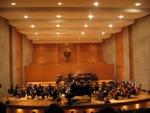 Het concert van het Ecuadoraans Symfonie orkest