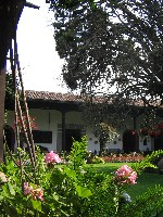 The patio of Casa Popenoe