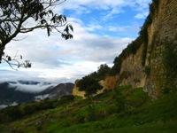 Kuelap, een indrukwekkend fort bovenop een berg