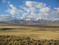 Onderweg van Huaraz naar Huallanca