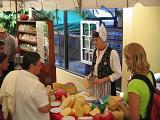 Frau Antje op de Feria Holandia
