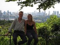Bovenop Cerro Ancon, uitzicht over Panama City