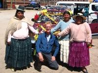 Blond haar trekt nog steeds, ook bij de bolhoed vrouwen van Peru en Bolivia