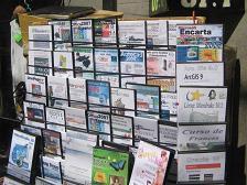 Vollop professionele, gekraakte software op straat voor 1 euro per CD