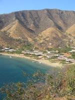 Playa Grande, vlakbij Taganga