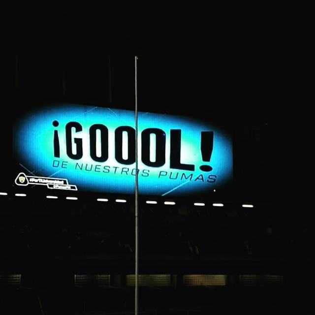 Desde el Olimpico Universitario  Goool ! pumasmx