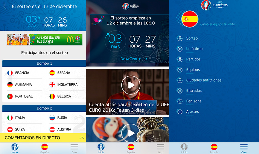 app eurocopa