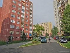 Pôvodná prepojka Maďarskej ulice s Bukureštskou s novou križovatkou...