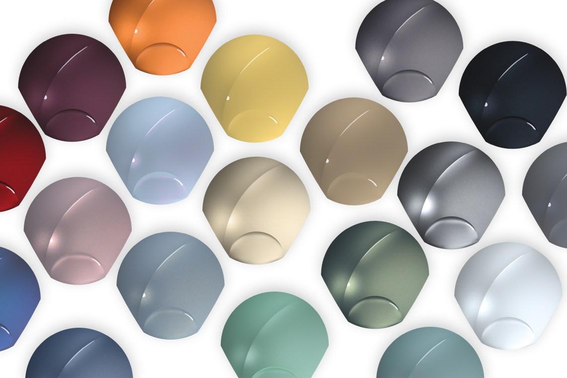 BASF's 2020-2021 Automotive Color Trends
