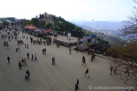 "Shimla ""the Mall"""