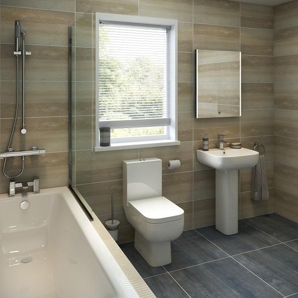 half tiled vs full tiled bathroom pros and cons basi bathrooms