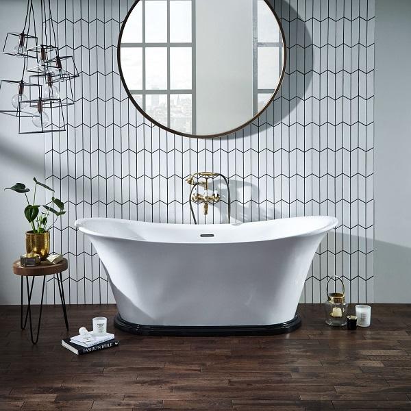 half tiled vs full tiled bathroom
