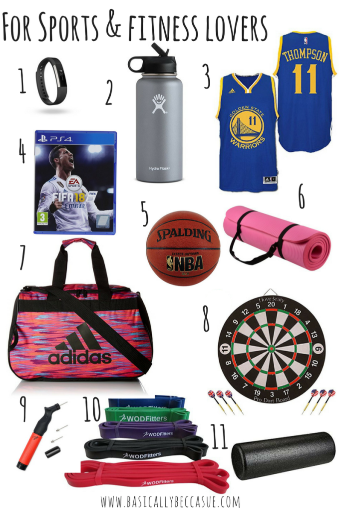 Amazon Gift Guide sports
