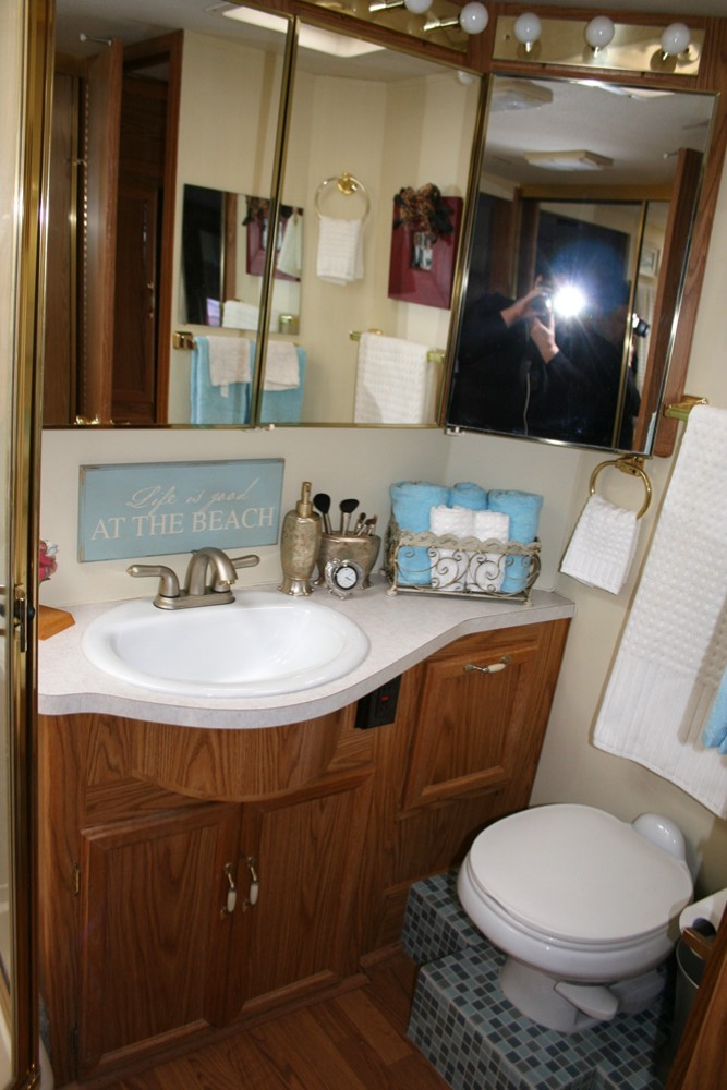 RV remodel of bathroom  Basic Components  Parts and products for Mobile Homes Factory Homes